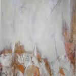 Acryl mit Sand, Papier 100 x 70, 510,- EUR