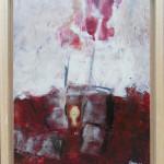 Acryl, 245,- mit Rahmen (45 x 36) cm